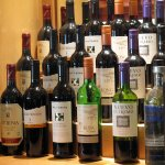 Large range of wines